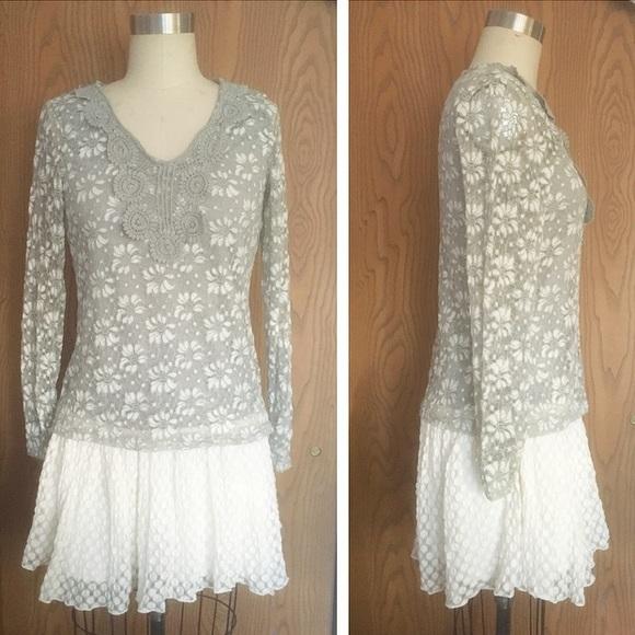 Anthropologie Dresses & Skirts - ⭐️FINAL SALE⭐️ NWOT Anthropologie Lace Frock 🐰
